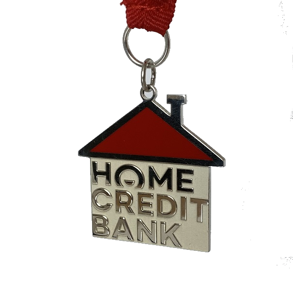 Корпоративная медаль-подарок Банка Хоум Кредит