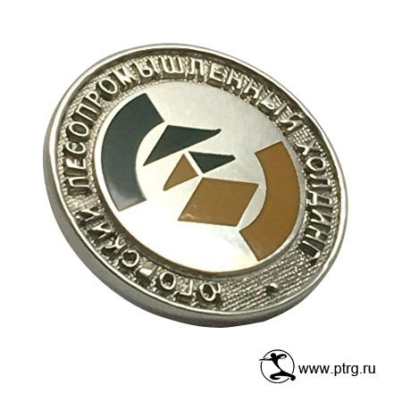 Значки с логотипом АО